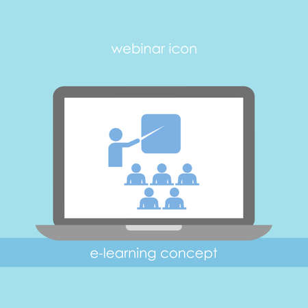 educativo: Icono de Webinar