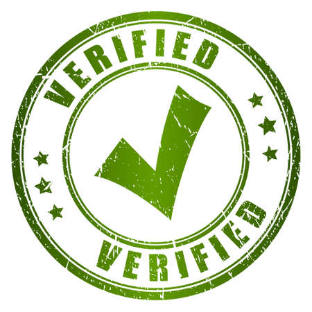 verified stamp: Verified stamp