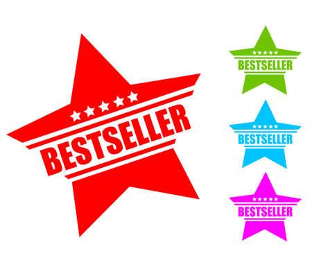 Bestseller icon Illustration