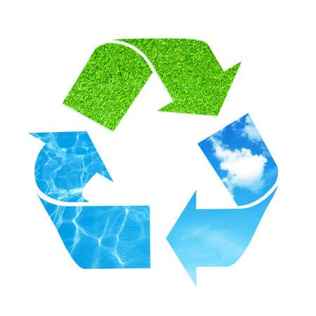 Recycle symbol photo