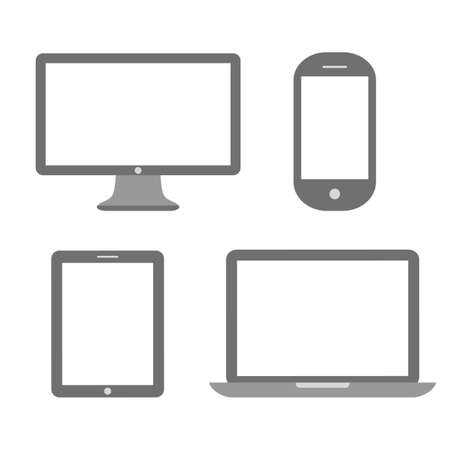 Media device icon Vector
