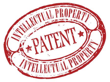 plagiarism: Patent icon Illustration