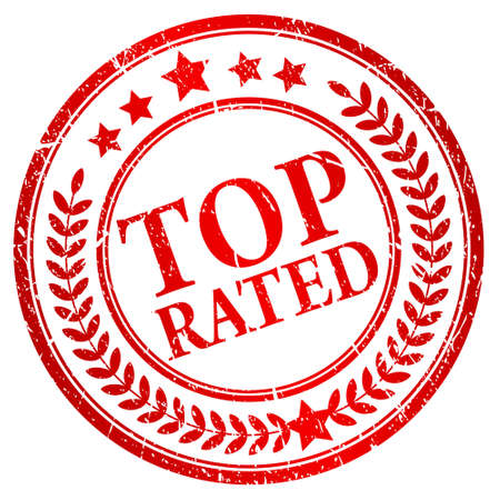 top rated: Top rated stamp