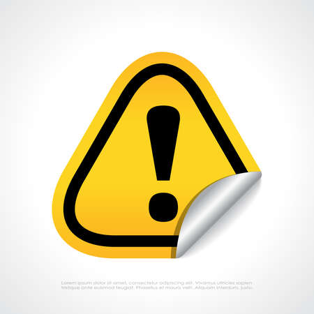 Error alert symbol Vector