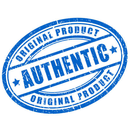 Authentic product Vector