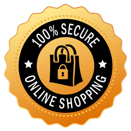 web shop: Secure shopping icon