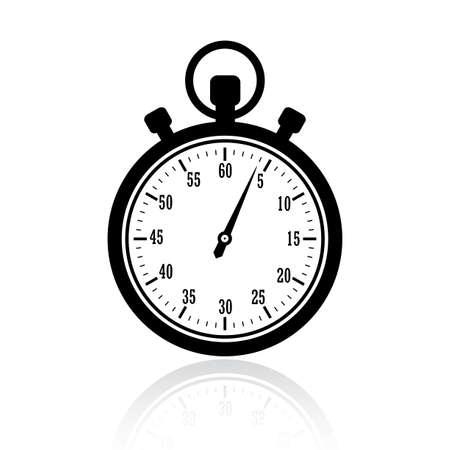 cronometro: Deje de ilustraci�n reloj