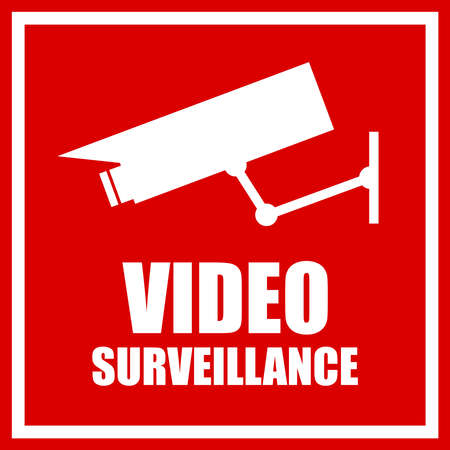 cams: Video surveillance sign
