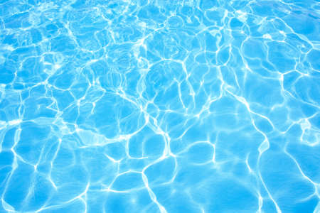 Swimming pool water Standard-Bild