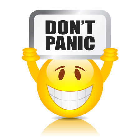 panic button: Do not panic