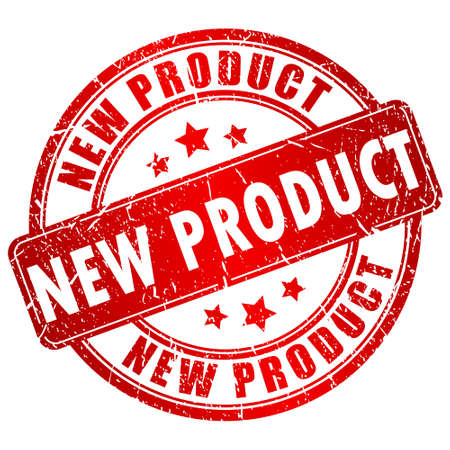 product background: New product stamp