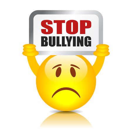 Stop bullismo segno Archivio Fotografico - 32561216