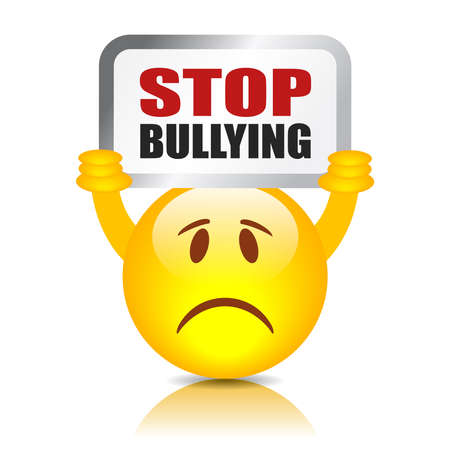 threat of violence: Stop bullying sign
