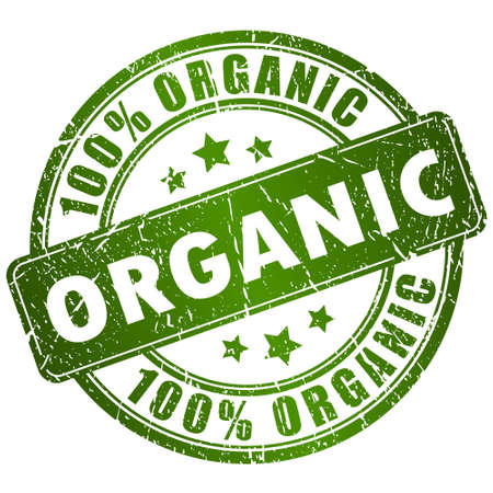 Organic vector stamp Vector