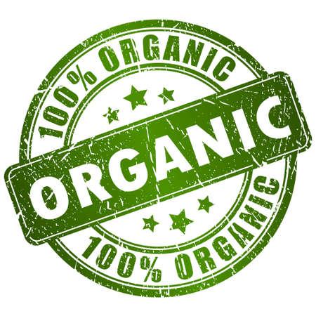 Organic vector stempel