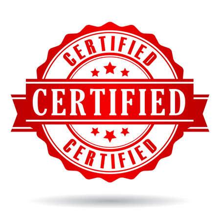 Certified-Symbol Standard-Bild - 32749440