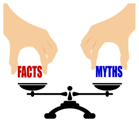 weighing scale: Facts myths icon