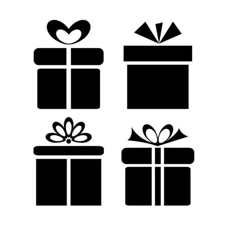 vectors: Gift icons