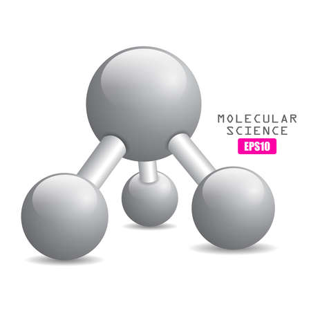Molecular science icon Vector