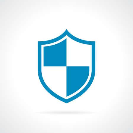 Shield protection icon  イラスト・ベクター素材
