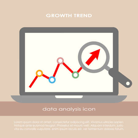 Data analysis poster Vector