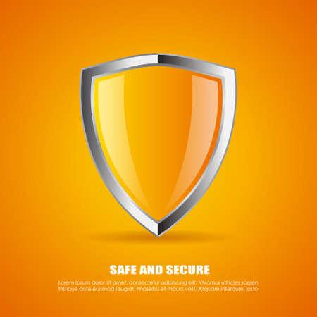 Shield icon Stok Fotoğraf - 34145750