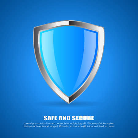 Security shield icon Imagens - 34576081