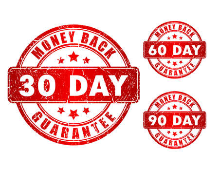 guaranty: Monay back stamps