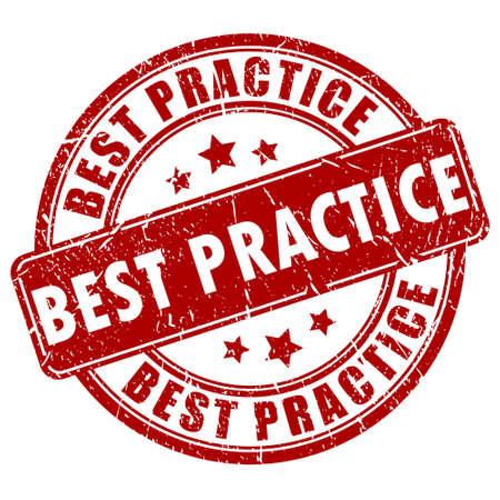 sello: El mejor sello de la práctica Vectores