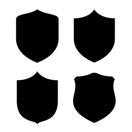 police badge: Shield shape