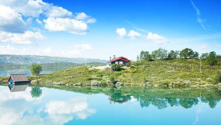 near: House near the lake
