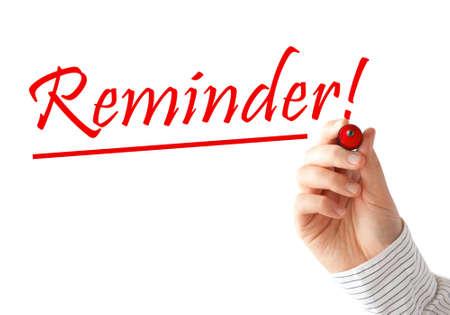 remember: Reminder