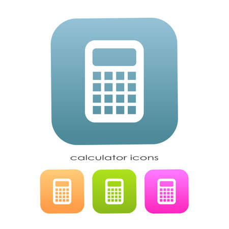 computation: Calculator icon