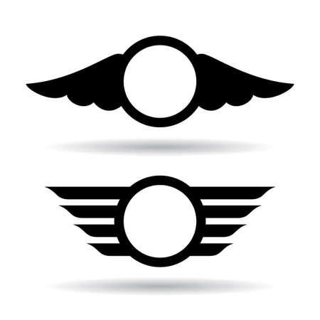 Alas símbolos Foto de archivo - 35322935