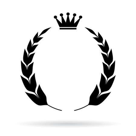 couronne royale: Embl�me royal h�raldique Illustration