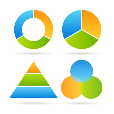 three layer: Three segment diagram
