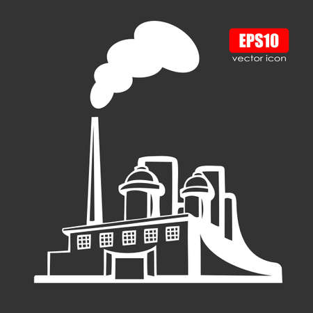 abstract mill: Factory icon