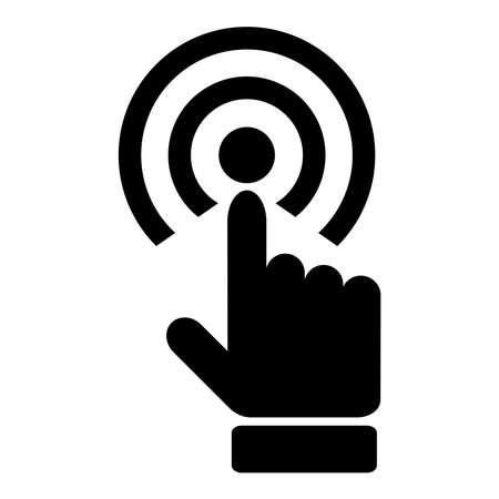 Touch hand icon Vector