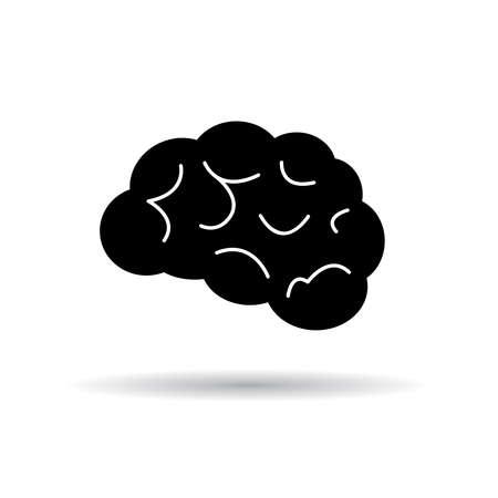 brain icon: Brain icon Illustration