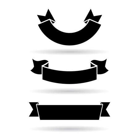 ruban noir: Bannières mis