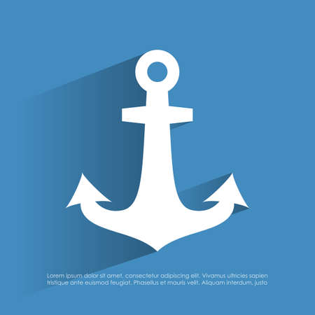 ancre marine: Ic�ne Anchor Illustration