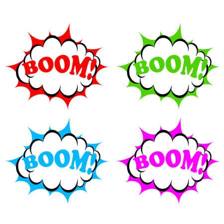 blank bomb: Boom icon
