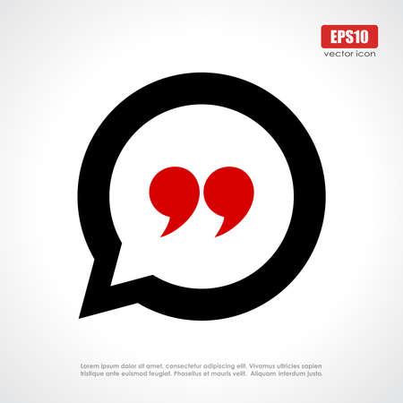 cotizacion: Cita icono Vectores