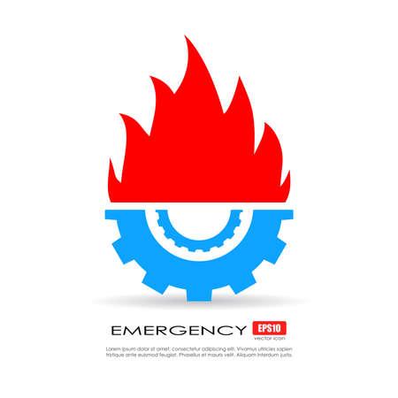 overhaul: Servizio di emergenza icona tecnica