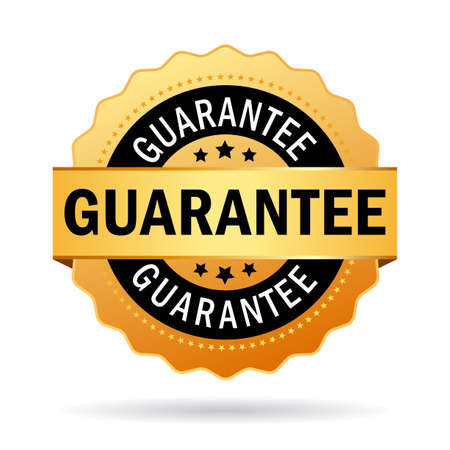Guarantee business icon Vector