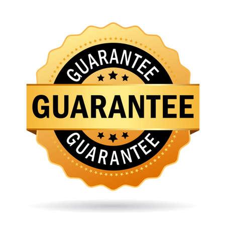 Guarantee business icon