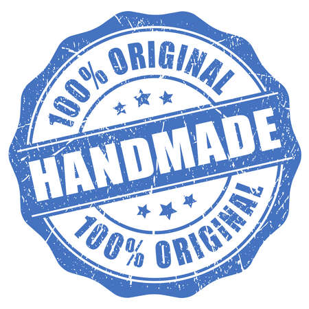Handmade original product Vector