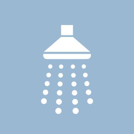 Shower icon Illustration