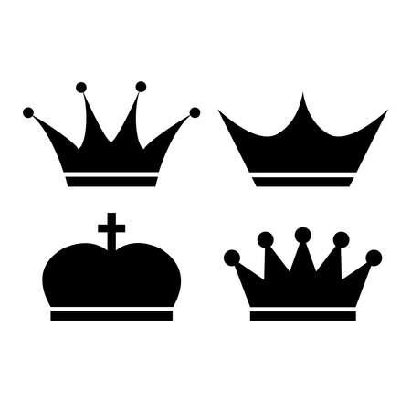 ikony: Korona ikona wektor