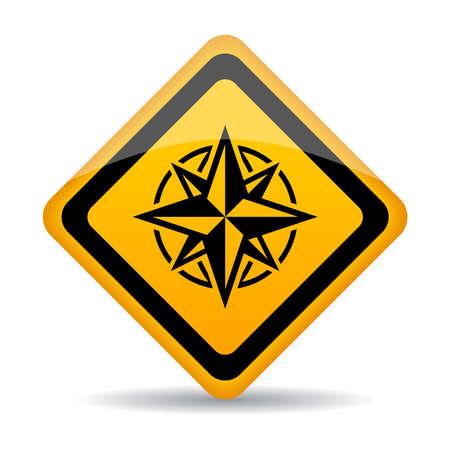 rhombus: Compass sign